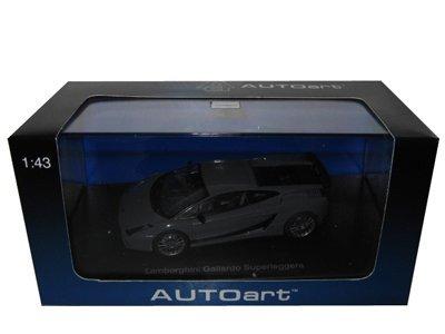 Lamborghini Gallardo Superleggera Grey 143 Autoart Diecast Car Model by AUTOart