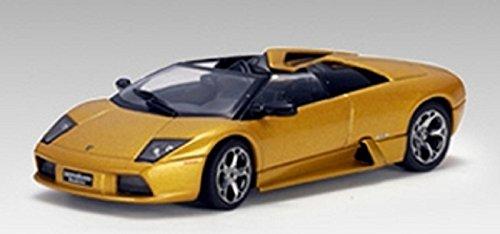 Lamborghini Murcielago Roadster 143 Autoart Diecast Model Car Gold