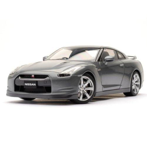 Nissan GT-R R35 Gray 118 Autoart Diecast Model Car