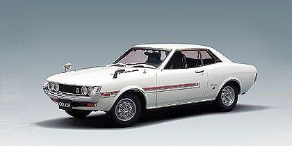 Toyota Celica 1600GT TA 22 White 118 AutoArt Diecast by AUTOart