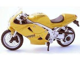 Maisto Triumph Daytona 955i Gold 118 Scale Diecast Model Motorbike 39341 by Maisto