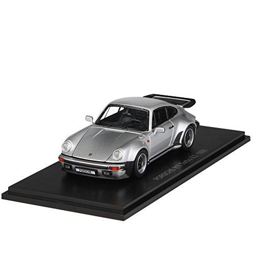 Kyosho Diecast 1988 Porsche 911 Turbo 33L 143 Scale Silver