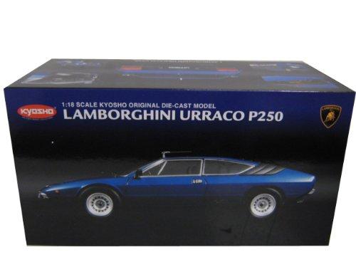 Lamborghini Urraco P250 Blue 118 Kyosho Diecast Model