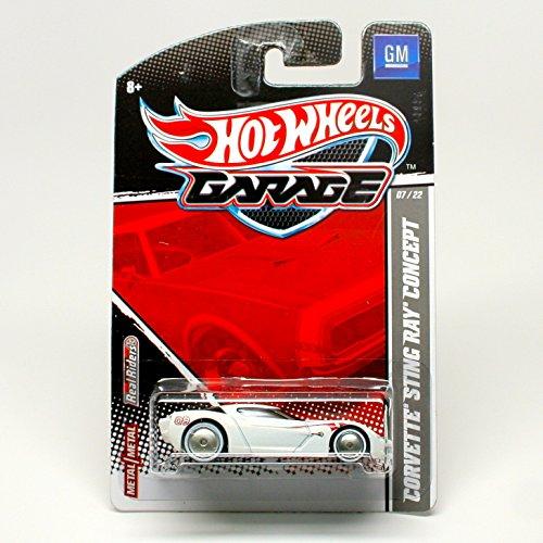 Hot Wheels Garage Corvette Sting Ray Concept