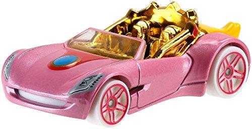 Hot Wheels Hot Wheels Mario Bros Princess Peach Car Vehicle