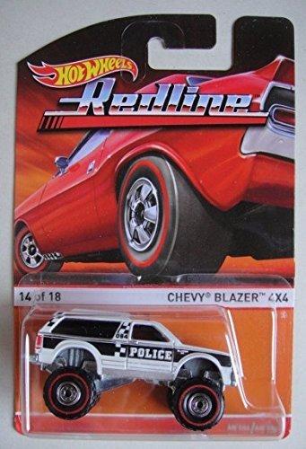 Hot Wheels Redline Chevy Blazer 4x4 1418 White