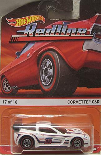 Hot Wheels Redline White Corvette C6R 1718 Die Cast Car