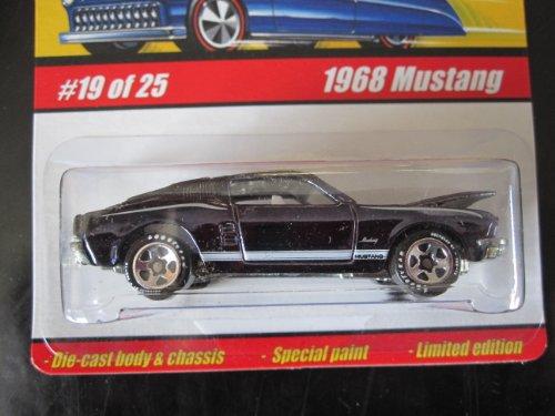 1968 Mustang Spectraflameblack 2005 Hot Wheels Classics Series 1 19