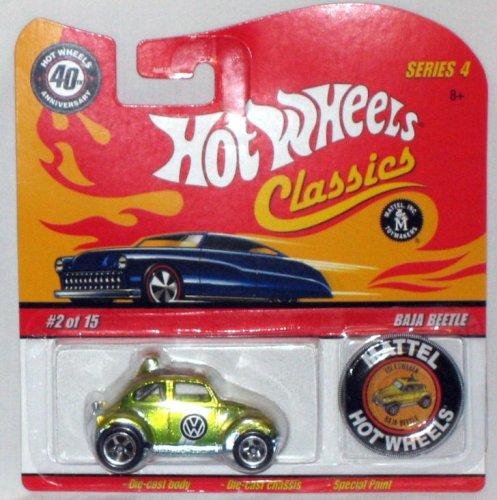 Hot Wheels Classic Series 4 Baja Beetle 02 of 15 - Mattel 164 Scale Die Cast