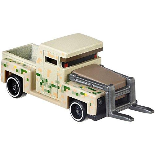 Hot Wheels Minecraft Iron Golem Vehicle 164 Scale