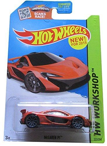Hot Wheels 2015 HW Workshop McLaren P1 Dark Orange Die-Cast Vehicle 223250 164 Scale