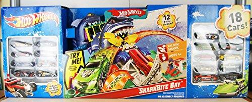 hot wheels shark track instructions