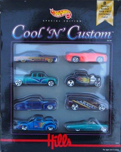 Hot Wheels Special Edition Cool N Custom Car Set