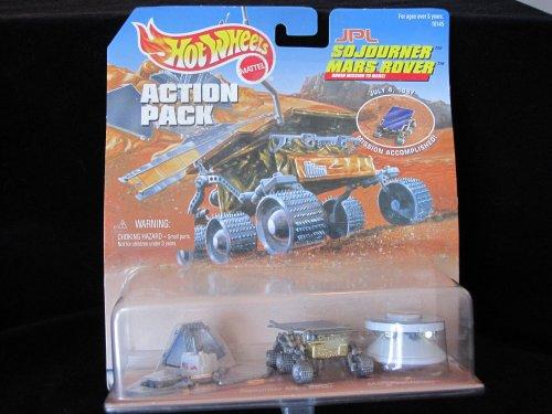 Hot Wheels Special Edition JPL Mars Sojourner on Mission Accomplished July 1997 Card