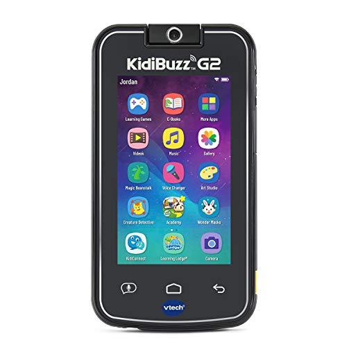 VTech KidiBuzz G2 Kids Electronics Smart Device with KidiConnect Black