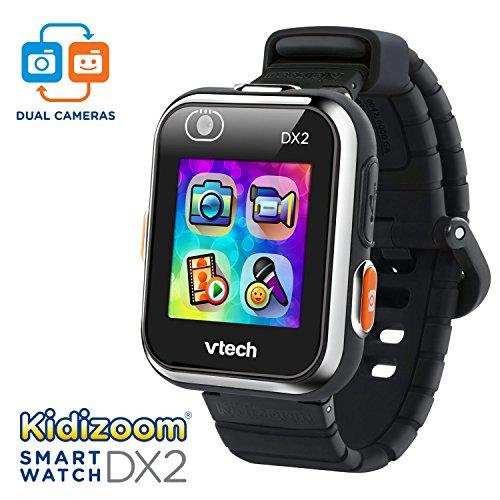 VTech KidiZoom Smartwatch DX2 Black Amazon Exclusive