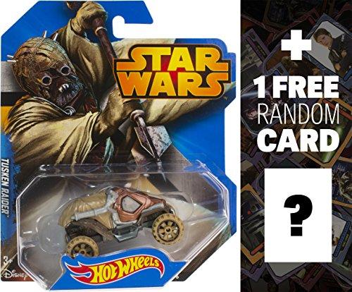 Tusken Raider 164 Die-cast Vehicle Star Wars x Hot Wheel Series  1 FREE Official Star Wars Trading Card Bundle