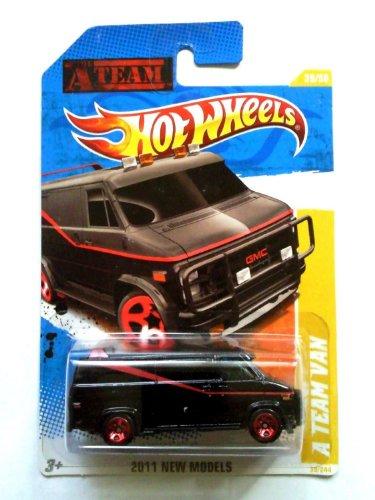2011 Hot Wheels A Team Van Black 39244