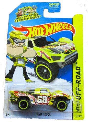 Hot Wheels - HW Off-Road 112250 - Baja Truck - Team Hot Wheels Yellow