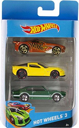 Hot Wheels 3-Vehicle Pack Set 003