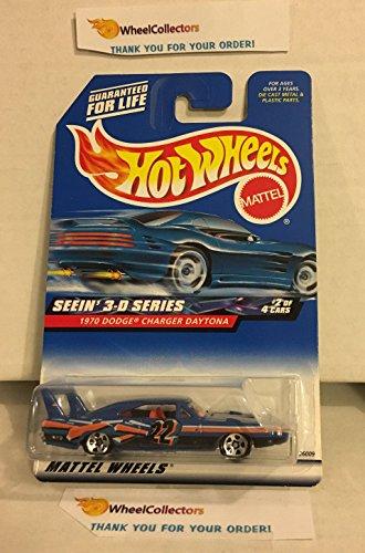 1970 dodge Charger Daytona BLUE 2000 Hot Wheels H23