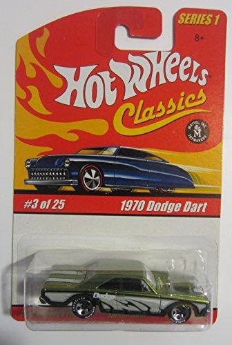Hot Wheels 1970 Dodge Dart Classics Series 1 - Antifreeze 3 of 25