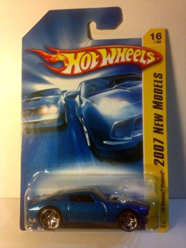 Hot Wheels 1970 metallic blue PONTIAC FIREBIRD 2007 New Models 16 of 36