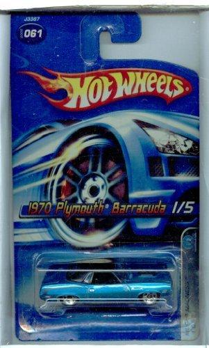 Hot Wheels 2006-061 Mopar Madness 15 1970 Plymouth Barracuda 164 Scale