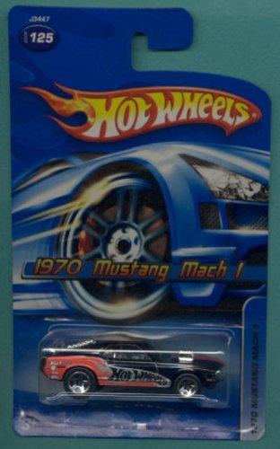 Hot Wheels Mattel 1970 Mustang Mach 1 - 2006 164 Scale Die Cast Car 125
