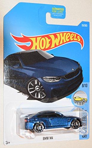Hot Wheels 2017 Factory Fresh BMW M4 Blue 55365