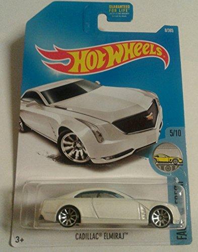 Hot Wheels 2017 Factory Fresh Cadillac Elmiraj White 8365