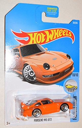 Hot Wheels 2017 Factory Fresh Porsche 993 GT2 Orange 30365