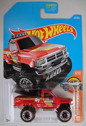 Hot Wheels 2017 HW Hot Trucks 1987 Toyota Pickup Truck Red 82365