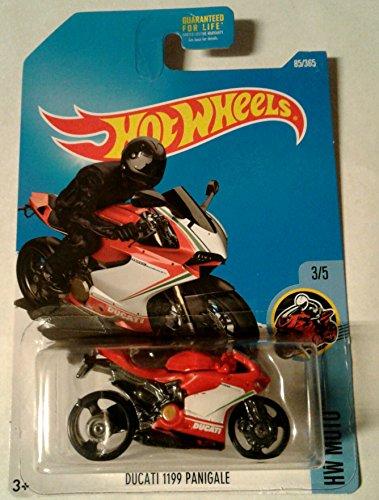 Hot Wheels 2017 HW Moto Ducati 1199 Panigale Motorcycle Red 85365