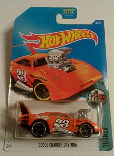 Hot Wheels 2017 Tooned Dodge Charger Daytona Orange 6365