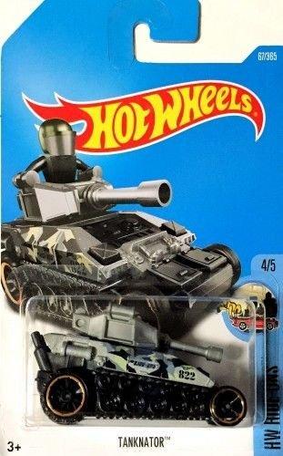 Mattel Hot Wheels 2017 Hw Ride-Ons 45 Tanknator