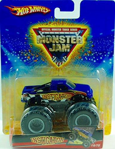 2008 - Mattel - Hot Wheels - Official Monster Truck Series - Monster Jam - Instigator Monster Truck - 1975 - First Release - New - MIB - Collectible