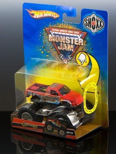 2008 - Mattel - Hot Wheels - Official Monster Truck Series - Monster Jam - The Destroyer Monster Truck- Tilt-Offs Chassis - 1475 - First Release - New - MIB - Collectible
