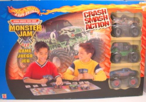Hot Wheels Official Monster Truck Series Monster Jam Game