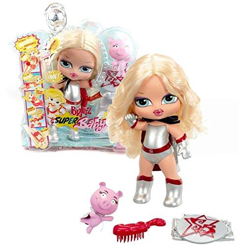 MGA Entertainment Bratz Super Big Babyz Series 13 Inch Electronic Doll - CLOE with Sidekick Angel The Super Pig and Hairbrush Plus Bonus Cape For You