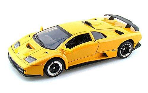 Lamborghini Diablo GT Yellow - Motormax 73168 - 118 scale Diecast Model Toy Car by Motor Max