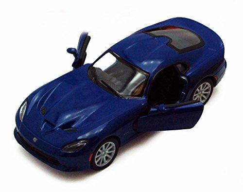 2013 Dodge SRT Viper GTS Blue - Kinsmart 5363D - 136 scale Diecast Model Toy Car Brand New but NO BOX