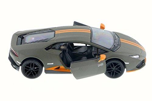 Lamborghini Huracan LP610-4 Avio Charcoal - Kinsmart 5401D - 136 Scale Diecast Model Toy Car Brand New but NO BOX