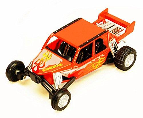 Turbo Sandrail Orange - Kinsmart 5256D - 5 Diecast Model Toy Car Brand New but NO BOX