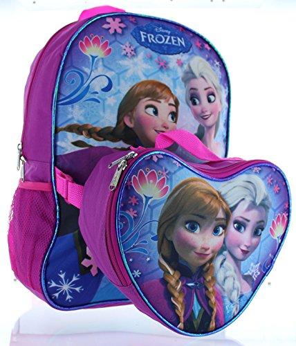 Disney Frozen Snow Flight Backpack with Lunchbox - purplemulti one size