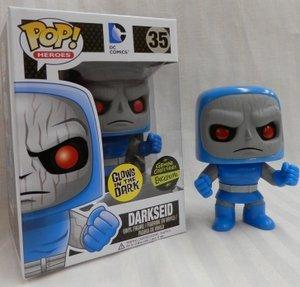 Funko POP Heroes Glow in the Dark Darkseid Action Figure Exclusive