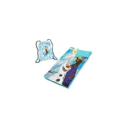Disney Frozen Sling Bag Slumber Set Nap Mat 784857597363