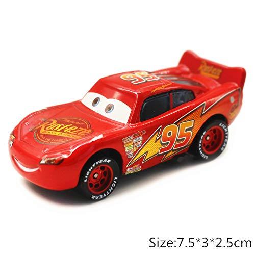 Disney Disney Pixar Cars 2 3 No10 Rip Clutchgoneski Lightning McQueen Mater 155 Diecast Metal Alloy Model Car Kid Birthday Gift Boy Lightning McQueen 1