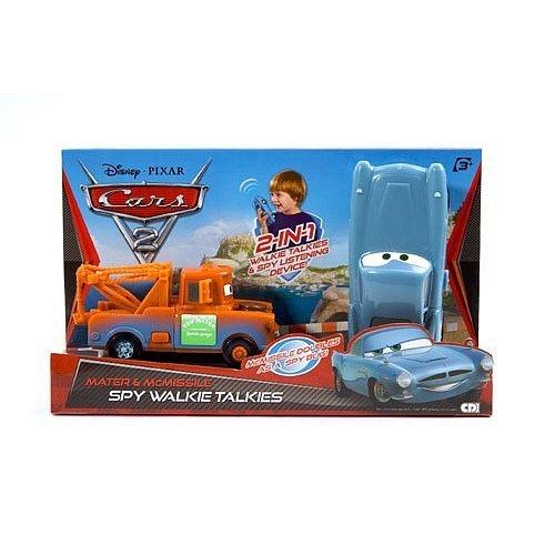 Disney Pixar Cars 2 Mater McMissile Spy Walkie Talkies