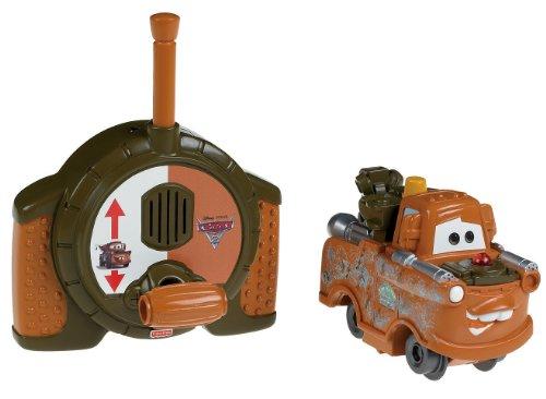 Fisher-Price GeoTrax DisneyPixar Cars 2 RC Spy Mater